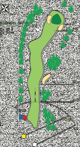 Loch 5 - A Golfplatz in Bitche