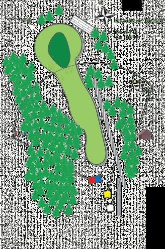Hole N°7 Course A Bitche Golf
