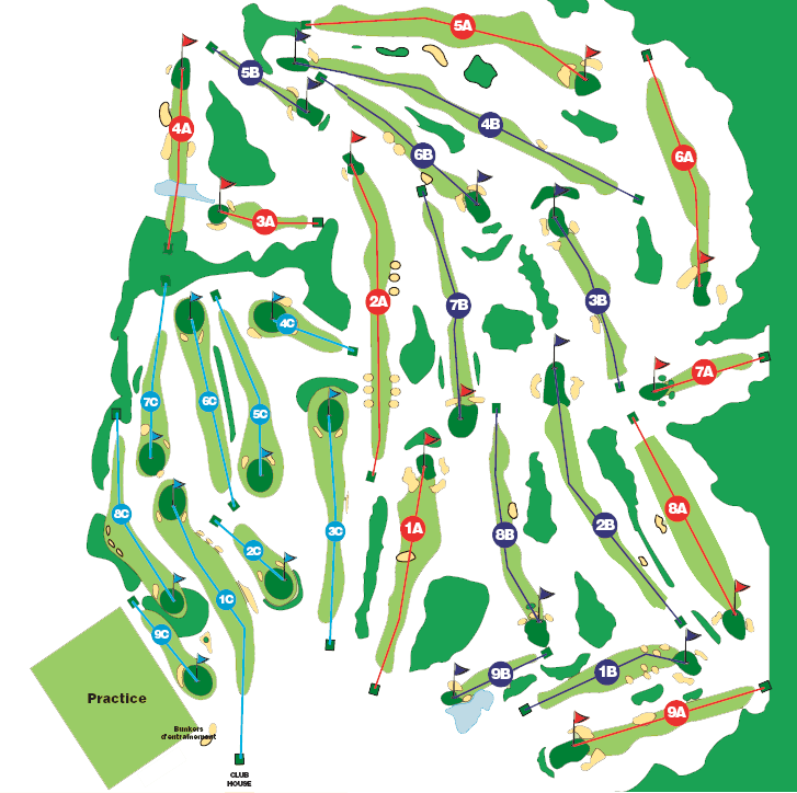 Course of Golf de Bitche